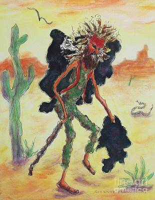 Painting - Homeless In The Desert by Suzanne  Marie Leclair