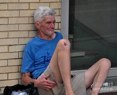 Photograph - Homeless by John Black
