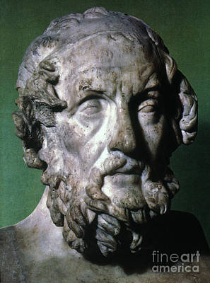 Homer (9th-8th Century B.c.) Art Print by Granger