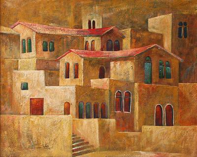 Homes Art Print by Adeeb Atwan