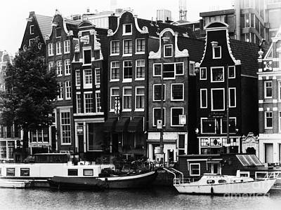Leda Photograph - Homes Of Amsterdam by Leslie Leda