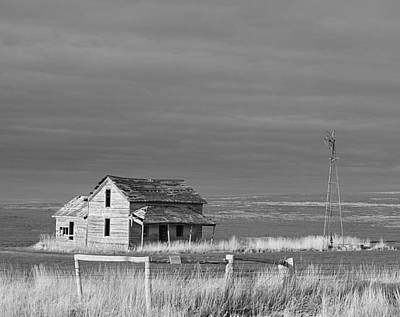 Photograph - Homestead by HW Kateley