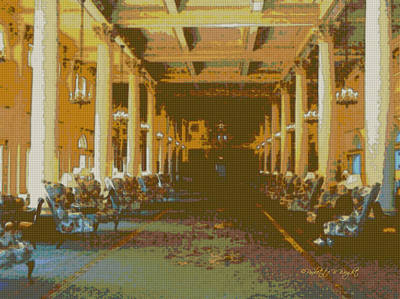 Photograph - Homestead Lobby by Paulette B Wright