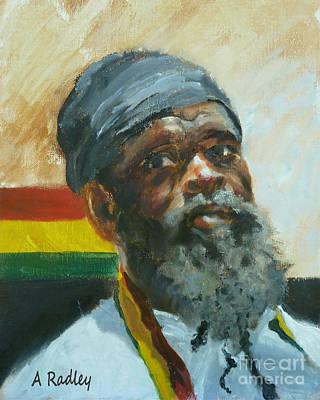 Jamaican Painting - Homeward by Ann Radley