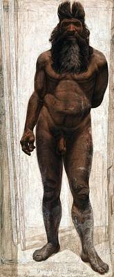 Fossil Reconstruction Photograph - Homo Heidelbergensis by Kennis And Kennismsf