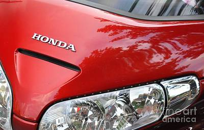 Photograph - Honda by John Black