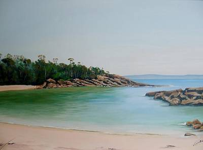 Painting - Honeymoon Bay by Anne Gardner
