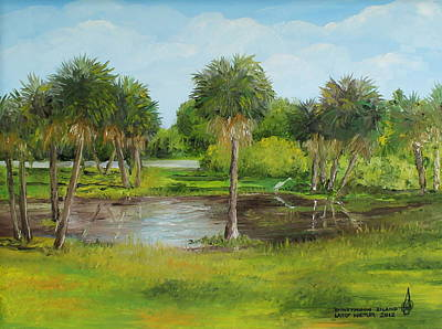 Painting - Honeymoon Island by Larry Whitler