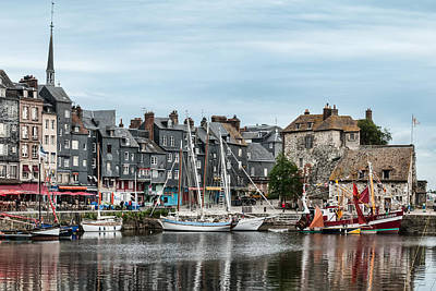Photograph - Honfleur by David Nicholls