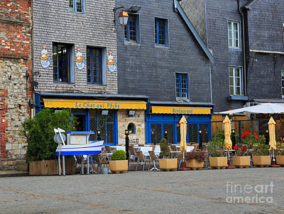Le Cat Photograph - Honfleur by Louise Heusinkveld
