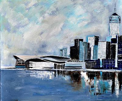 Hong Kong Painting - Hong Kong by Pol Ledent