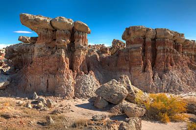 Hoodoos At Gooseberry Desert Wyoming Original