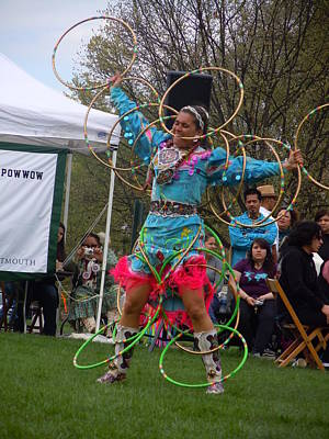 Photograph - Hoop Dancer by Nancy Griswold