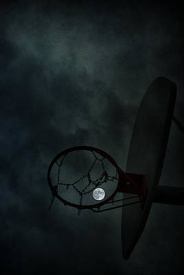 Photograph - Hoops In The Moonlight by Emily Stauring