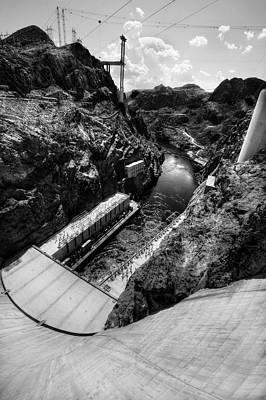 Hoover Dam 1 Bw Original by Jessica Velasco