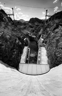 Hoover Dam 5 Bw Original by Jessica Velasco