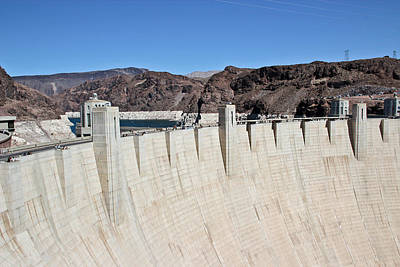 Photograph - Hoover Dam And Lake Mead by Heidi Smith
