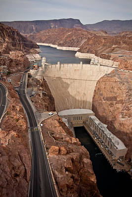 Photograph - Hoover Dam by Anthony Doudt