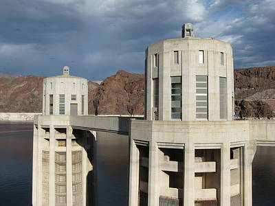 Photograph - Hoover Dam by Michelle Wolff