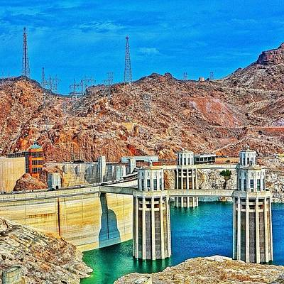 Trip Photograph - Hoover Dam, Once Known As Boulder Dam by Tommy Tjahjono