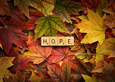 Photograph - Hope-autumn by  Onyonet  Photo Studios