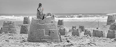 Sand Castles Photograph - Hope by Betsy Knapp