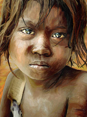 Female Painting - Hope by James Shepherd