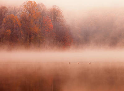 Hopewell Lake, French Creek State Park Art Print by Michael Lawrence Photography