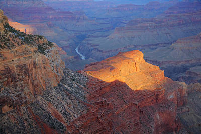 Hopi Point Sunrise Art Print by Mike Buchheit