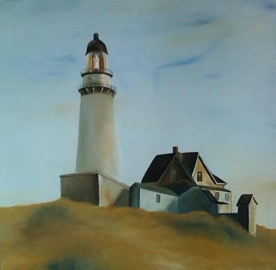 Painting - Hopper Study by Robert Foss