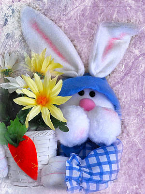 Hoppy Easter Original by Mary Timman