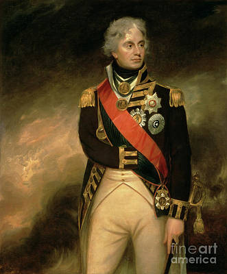 Navy Painting - Horatio Viscount Nelson by Sir William Beechey