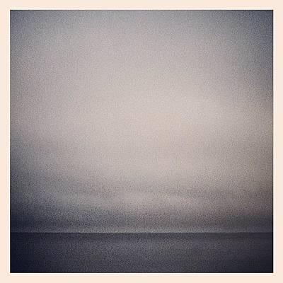 Marsh Photograph - Horizon Line by Tom Crask