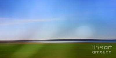 Photograph - Horizon Panorama Imagination by Lutz Baar