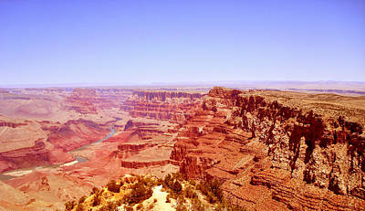 Art Print featuring the photograph horizon in Grand Canyon by Rima Biswas