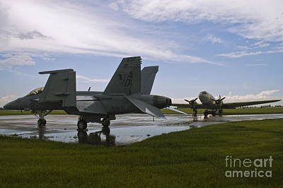 Photograph - Hornet And Gooney After The Storm by Tim Mulina