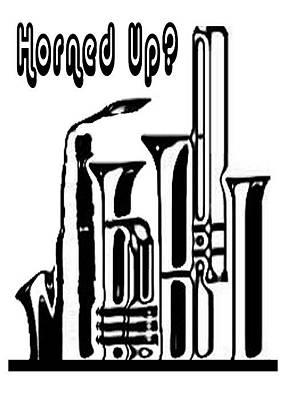 Hornz Card Art Print by Jann Paxton