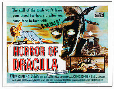 Horror Of Dracula, Poster Art, 1958 Art Print