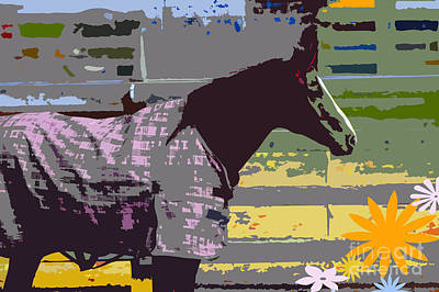 Artyzen Kids Mixed Media - Horse Art For Children by ArtyZen Kids
