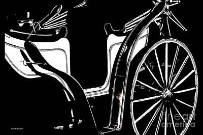 Photograph - Horse Drawn Carriage Antique by Maria Urso