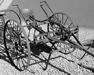 Photograph - Horse Drawn Plow by Pamela Walrath