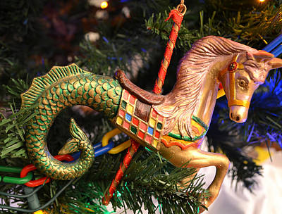 Photograph - Horse Ornament 2 by Bill Owen