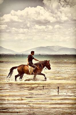 Photograph - Horse Riding by Okan YILMAZ