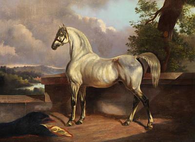 Horse Art Print by Rudolph Swoboda