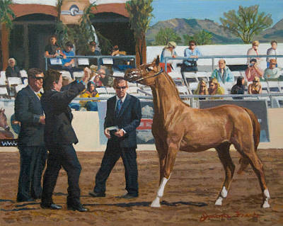 Painting - Horse Show by Joanna Franke