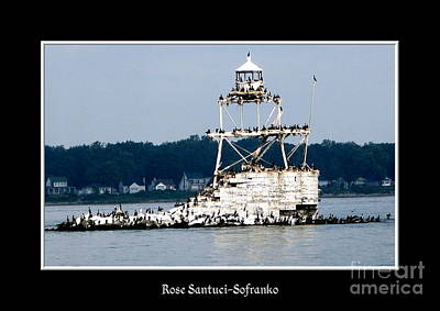 Photograph - Horseshoe Reef Lighthouse 2 by Rose Santuci-Sofranko