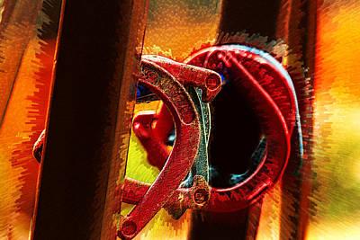 Profound Digital Art - Horseshoe Rift by Bill Tiepelman