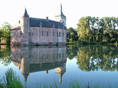 Horst Castle Belgium Art Print by Joseph Hendrix