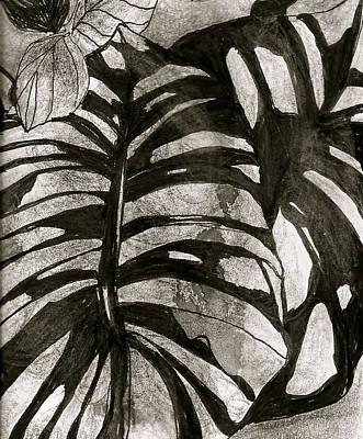 Hostas Version II Art Print by Claudia Smaletz