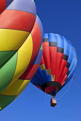 Photograph - Hot Air Ballons by Garry Gay